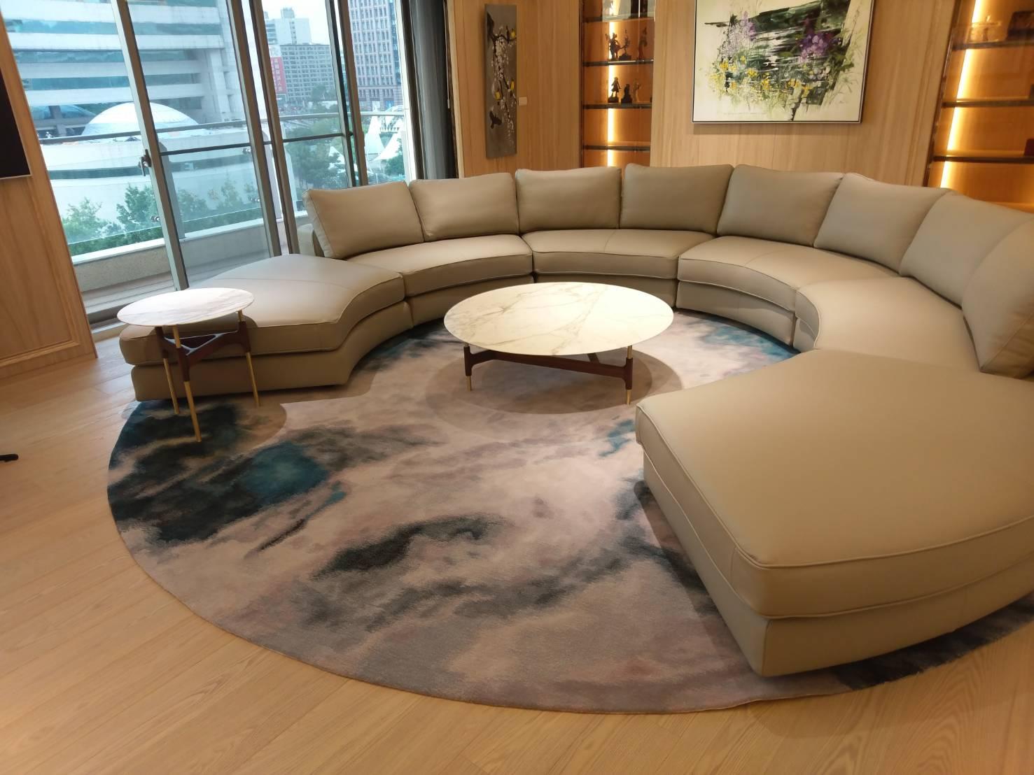 豪宅100%紐西蘭羊毛手工毯